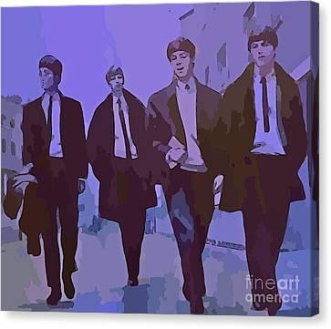 Purple People Eaters Canvas Print