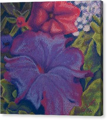 Purple Petunia Canvas Print