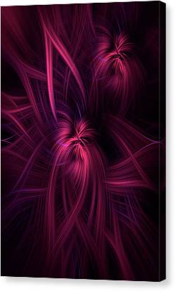 Purple Pink Abstract. Concept Potential Canvas Print