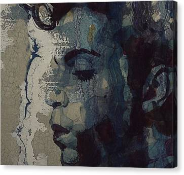 Purple Rain - Prince Canvas Print by Paul Lovering
