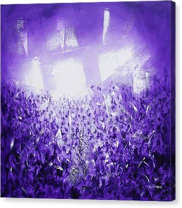 Purple Rave Canvas Print