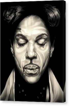 Purple Reign Canvas Print