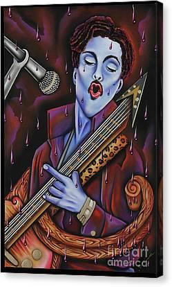 Purple Reign Canvas Print by Nannette Harris