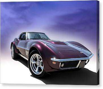 Purple Stinger Canvas Print by Douglas Pittman