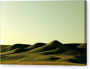 Pushed Blanket Canvas Print by Todd Klassy