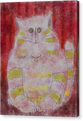 Pussy Cat Canvas Print