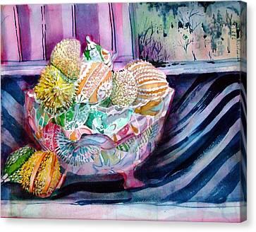 Jewels Canvas Print - Puttin On The Glitz by Mindy Newman