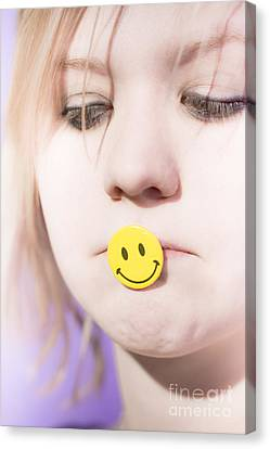 Putting On A Happy Face Canvas Print by Jorgo Photography - Wall Art Gallery