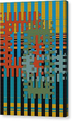 Puzzled Canvas Print by Ben and Raisa Gertsberg