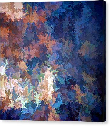 Abstraction Canvas Print - Puzzled by Tom Druin