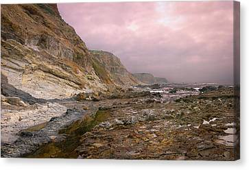 Pv Cliffs Canvas Print by Kevin Bergen