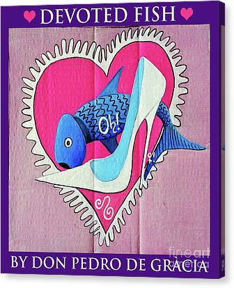 Devoted Fish Canvas Print
