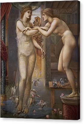 Pygmalion And The Image  Canvas Print