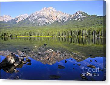 Pyramid Lake Reflection Canvas Print