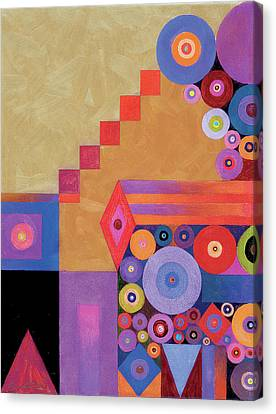 Pythagorus' Abstract I Canvas Print by Bob Coonts