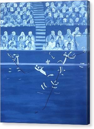 Q N Canvas Print by Ken Yackel