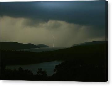Quabbin Thunderstorm Canvas Print