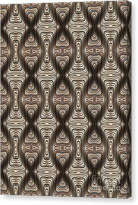 Quadrax Canvas Print by John Edwards