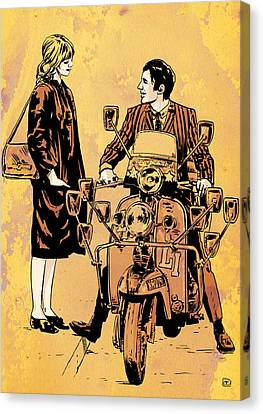 Quadrophenia The Who Roger Daltrey Album Canvas Art Poster Print Scooter Mods