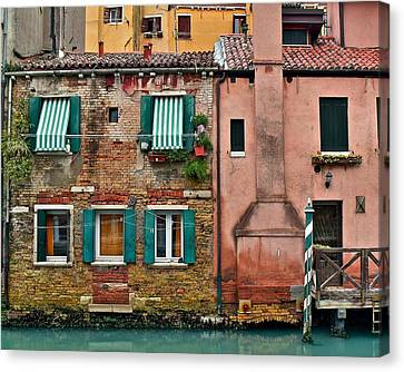 Quaint Venetian Home Canvas Print
