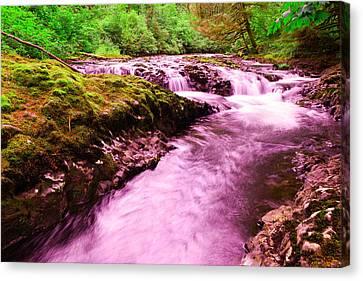Quaint Water Canvas Print by Jeff Swan