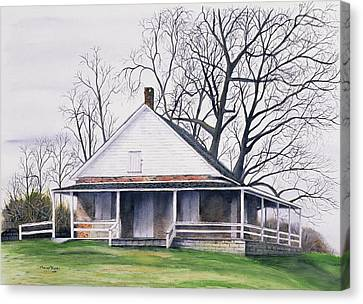 Quaker Meeting House Canvas Print by Tom Dorsz