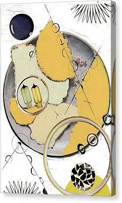 Quantom Physics Canvas Print by Michal Mitak Mahgerefteh