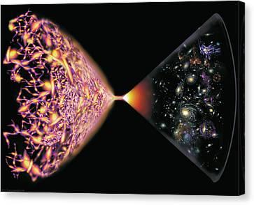 Quantum Cosmos Canvas Print by Don Dixon