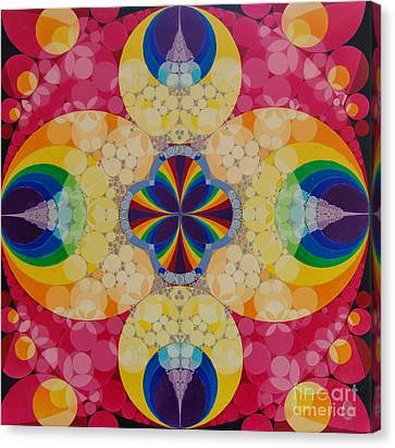 Quantum Faith Canvas Print by Nofirstname Aurora