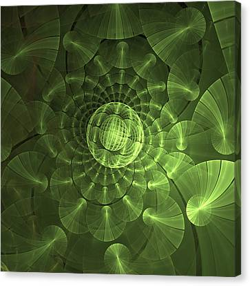 Quantum Plasma Signature Canvas Print