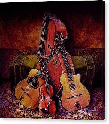 Quartet Canvas Print by Sol Robbins