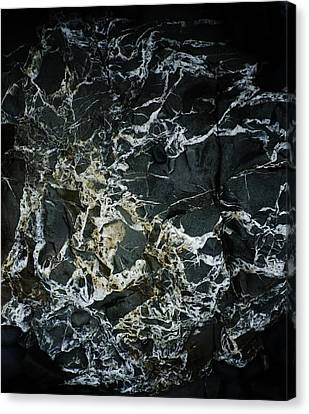 Quartz Veins Abstract 1 Canvas Print by Richard Brookes