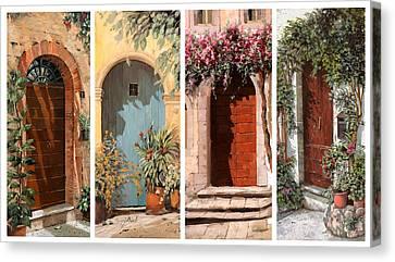 Quattro Porte Canvas Print by Guido Borelli