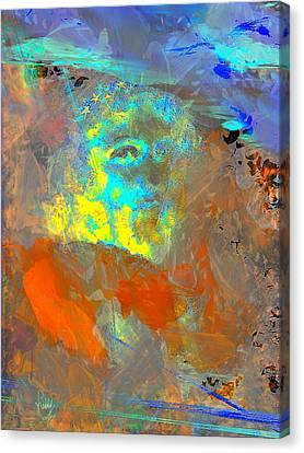 Que Le Temps Me Libere  Canvas Print