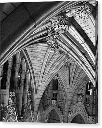 Quebec Parliament Building Canvas Print