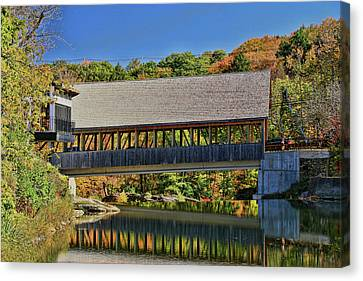 Quechee Covered Bridge # 2 Canvas Print