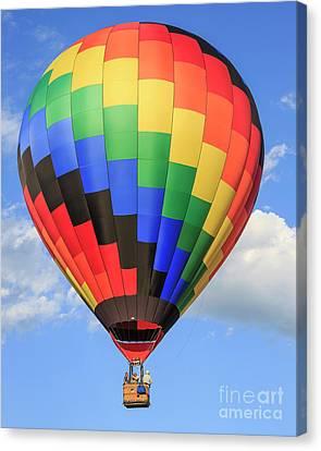 Quechee Vermont Hot Air Balloon Fest 3 Canvas Print by Edward Fielding