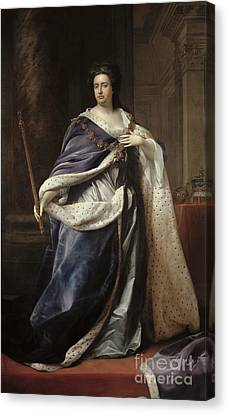 Queen Anne Canvas Print by Edmund Lilly