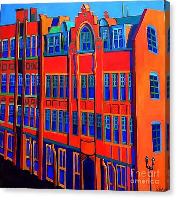 Appleton Art Canvas Print - Queen Anne In Lowell by Debra Bretton Robinson