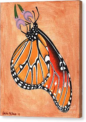 Canvas Print - Queen Butterfly by Kasia Bitner