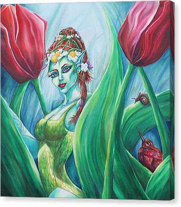 Queen Maeve's Realm Canvas Print by Lori Kuhn