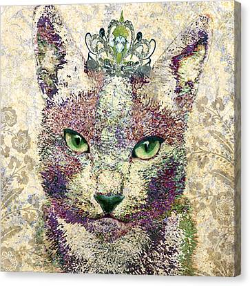 Queen Of Catwalk Canvas Print by Stacey Chiew