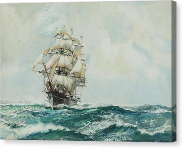 Sphere Canvas Print - Queen Of Clippers by Montague Dawson