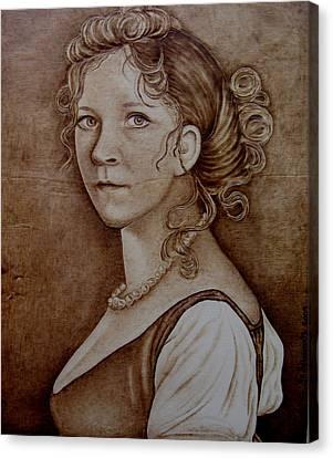 Queen Of Prussia Canvas Print by Jo Schwartz