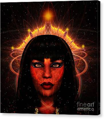 Queen Of The Cosmos Canvas Print