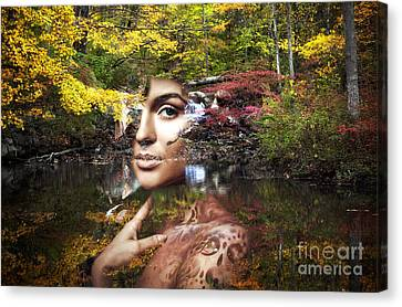 Queen Of The Forest Canvas Print by John Rizzuto