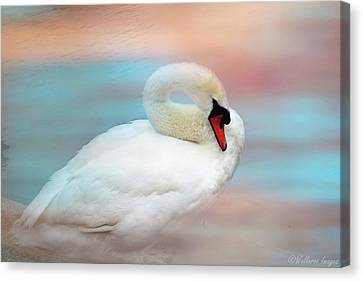 Queen Of The Lake Canvas Print by Wallaroo Images