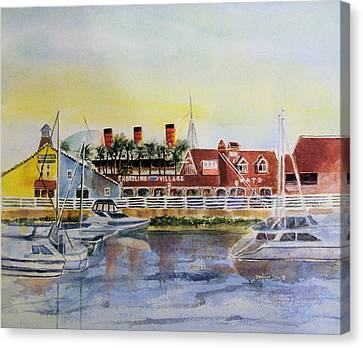 Queen Of The Shore Canvas Print by Debbie Lewis