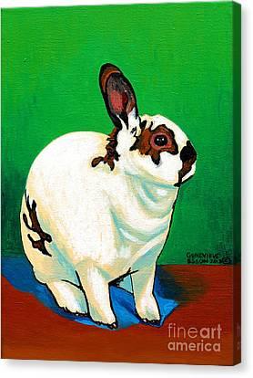 Queenie Canvas Print by Genevieve Esson