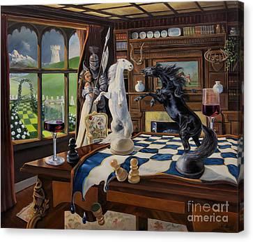 Queen's Magic Canvas Print by Jeanne Newton Schoborg